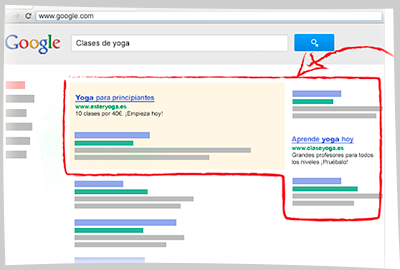 Publicidad en Google Adwords