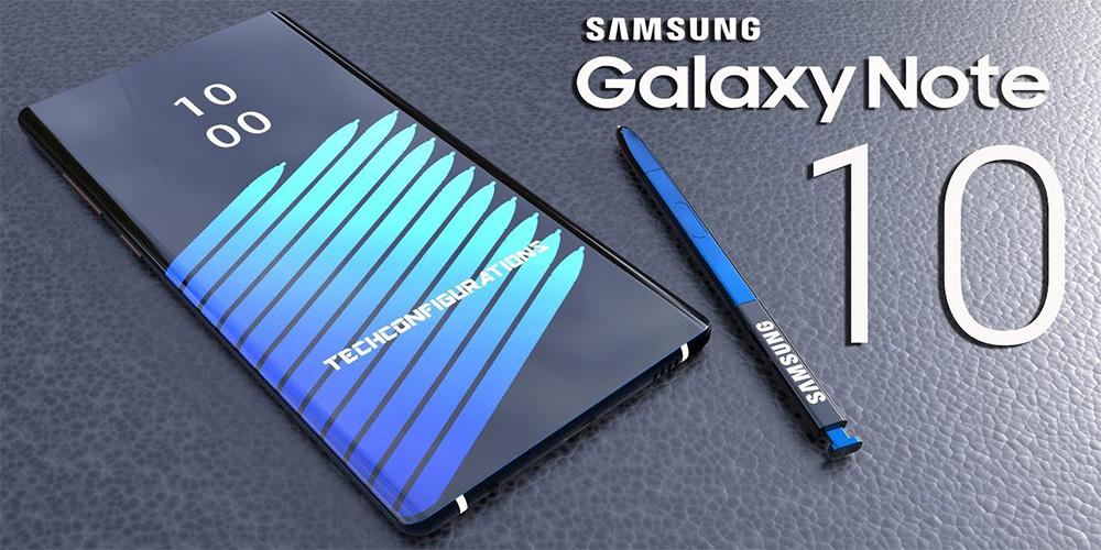 Galaxy Note 10 sería el primer smartphone sin botones de Samsung