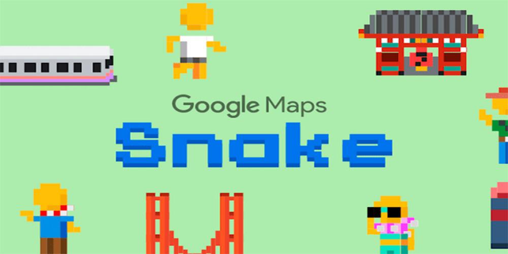 Ya puedes jugar a la serpiente en Google Maps por el 'April Fool's'