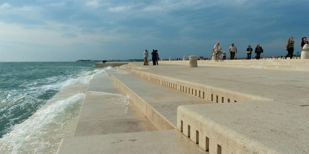 Arquitecto croata diseña un órgano que convierte las olas del mar en música