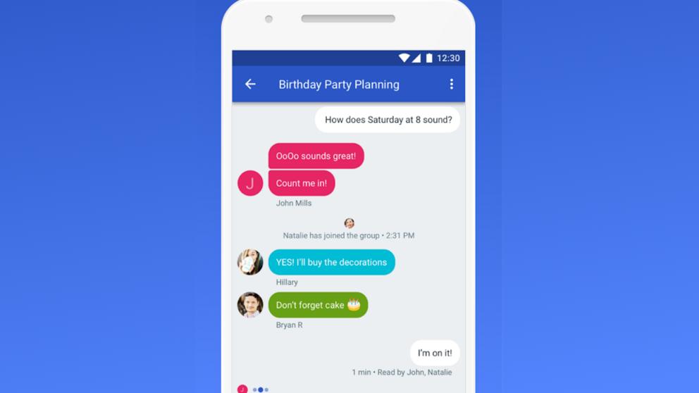 Google lanzará nuevo servicio de mensajería que competirá con WhatsApp