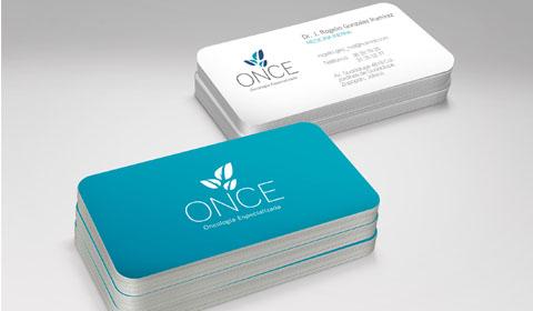 100 tarjetas plastificadas y redondeadas